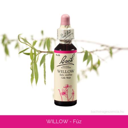 Willow - Fűz eredetei Bach-virágeszencia