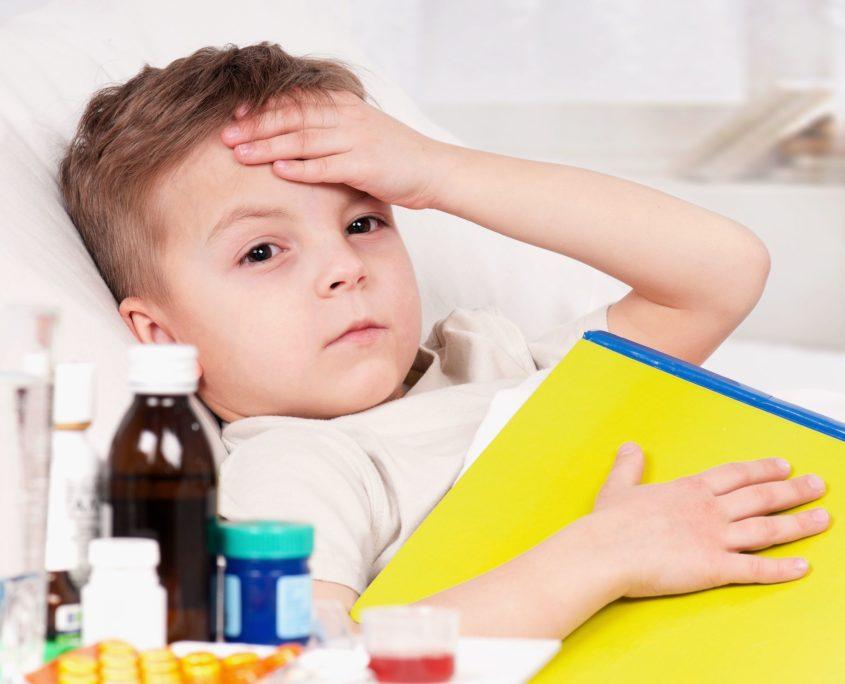 Beteg a gyerekem, és tiszta hipochonder.