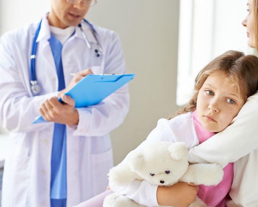 Beteg a gyerekem és nagyon elesett