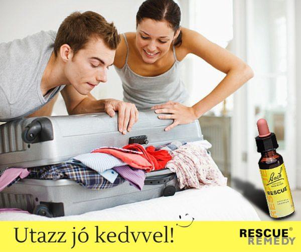 Utazz jó kedvvel, a RESCUE támogat.