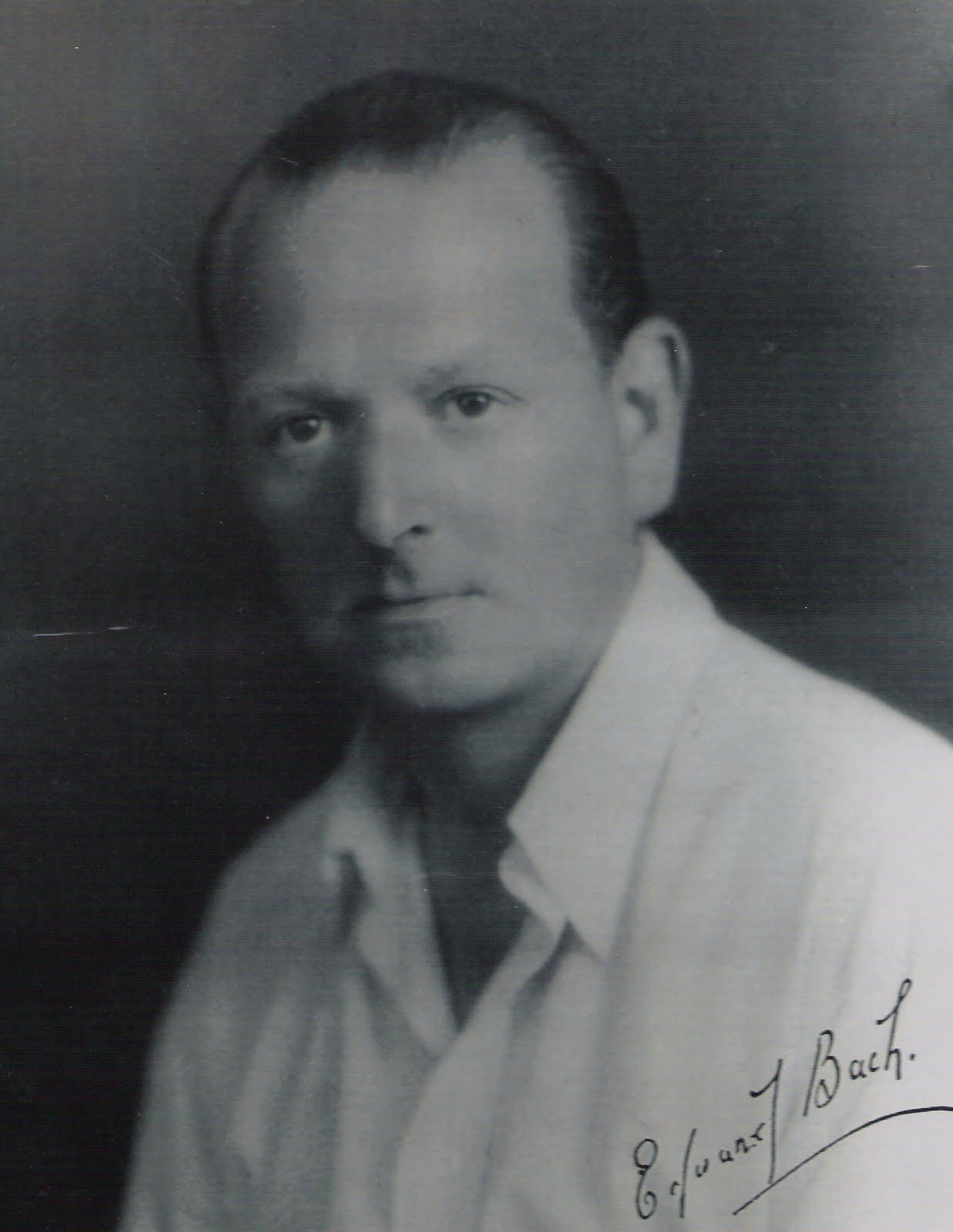 dr Edward Bach arckép