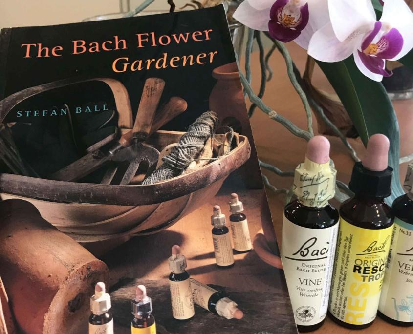 The Bach Flower gardener könyv